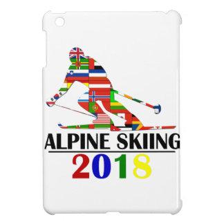 2018 ALPINE SKIING COVER FOR THE iPad MINI