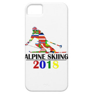 2018 ALPINE SKIING iPhone 5 CASE