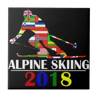 2018 ALPINE SKIING TILE