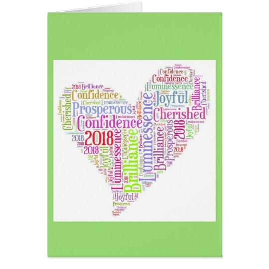 2018 Angel Message Card