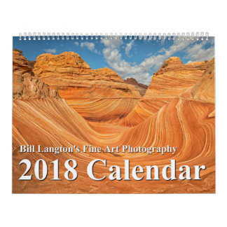 2018 Annual Nature Photography Calendar