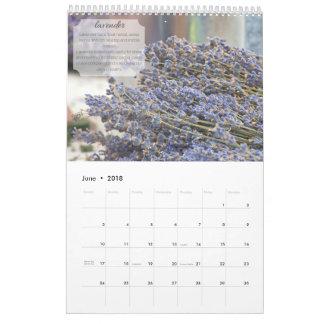 2018 Aromatherapy Calendar