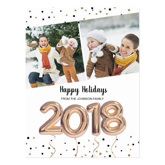2018 balloon | postcards | New Year