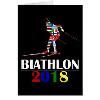 2018 BIATHLON CARD