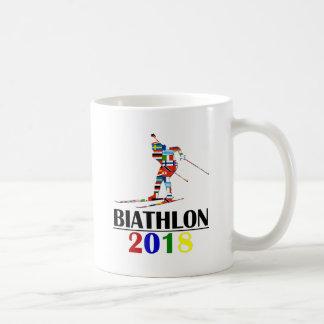 2018 BIATHLON COFFEE MUG