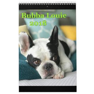 2018 Bubba Louie Calendar
