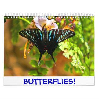 2018 Butterflies! Calendar