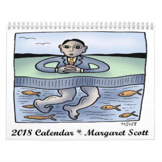 2018 Calendar by Margaret Scott