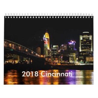 2018 Calendar of Cincinnati