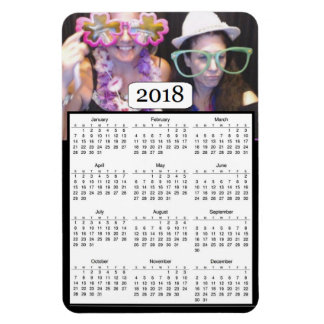 2018 Calendar Personalized Photo Magnet