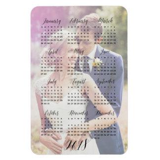 2018 Calendar Your Photo Magnet