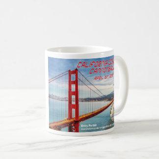2018 California Coastal Cannonball Coffee Mug