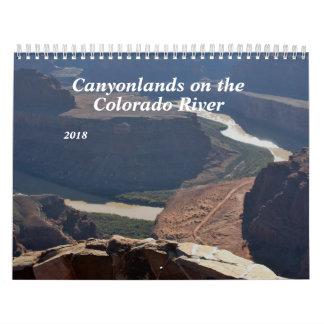 2018 Canyonlands on the Colorado River Calendar
