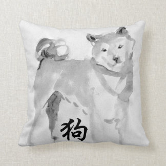 2018 Chinese New Year of Dog Symbol Zodiac Pillow3 Throw Pillow
