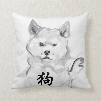 2018 Chinese New Year of Dog Symbol Zodiac Pillow4 Throw Pillow