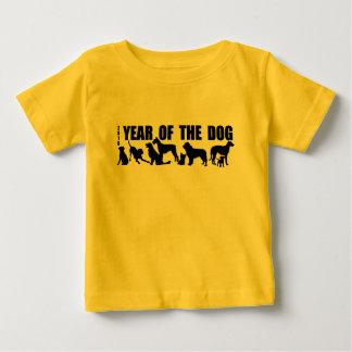 2018 Chinese New Year of The Dog Baby Yellow Tee