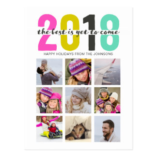 2018 | colourful | postcards