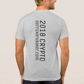 2018 Crypto - derrickbrubaker.com T-Shirt