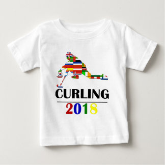 2018 CURLING BABY T-Shirt
