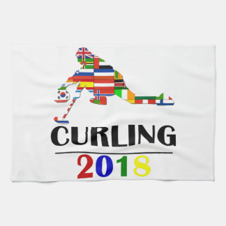 2018 CURLING KITCHEN TOWEL