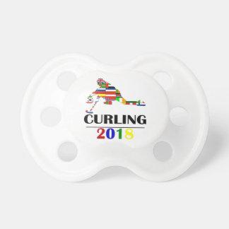 2018 CURLING PACIFIER