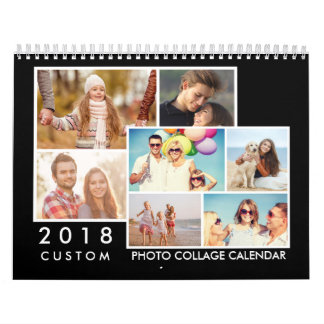 2018 Custom Photo Collage Calendar