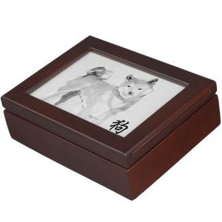 2018 Dog Chinese New Year Symbol Zodiac Keepsake 3 Memory Boxes
