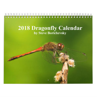 2018 Dragonfly Calendar