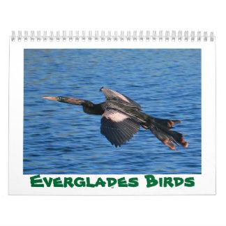 2018 Everglades Birds Calendar
