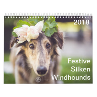 2018 Festive Silken Windhounds Calendars