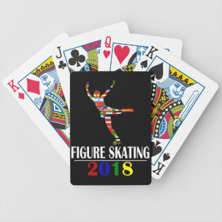 2018 FIGURE SKATING BICYCLE PLAYING CARDS