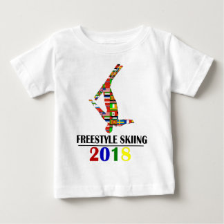 2018 FREESTYLE SKIING BABY T-Shirt