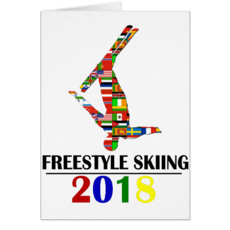 2018 FREESTYLE SKIING CARD