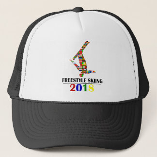 2018 FREESTYLE SKIING TRUCKER HAT
