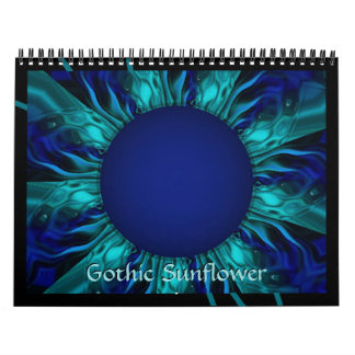 2018 Gothic Sunflower Calendar of Art