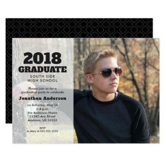2018 Graduate | Horizontal Photo Graduation Party Card