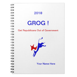 2018 GROG! Notebook.Personalize it! Notebooks