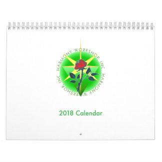 2018 Harmony Workshop Calendar