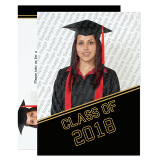 2018 Head Of The Class Graduation Invitation