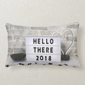 2018 Hello There polyester throw pillow