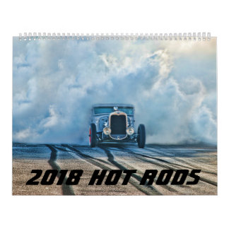 2018 hot rod calendar