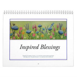 2018 Inspired Blessings Calendar