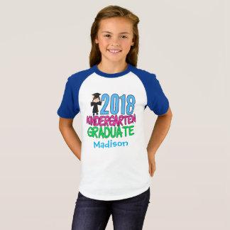 2018 Kindergarten Graduate Girl T-Shirt