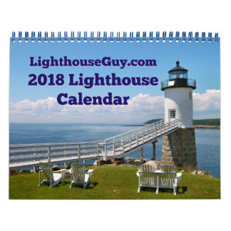 2018 LighthouseGuy.com Lighthouse Calendar