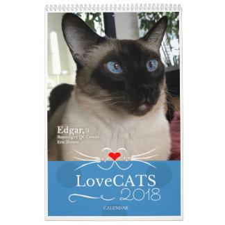 2018 LoveCATS Calendar Third Edition