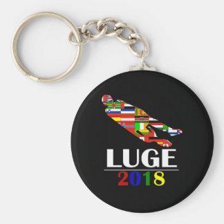 2018 LUGE KEYCHAIN