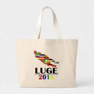 2018 LUGE LARGE TOTE BAG