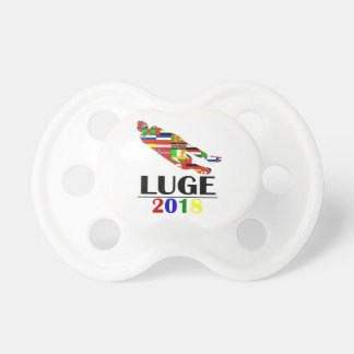 2018 LUGE PACIFIER
