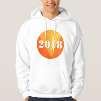 2018 Men's Basic Hooded Sweatshirt Enjoy the comfo