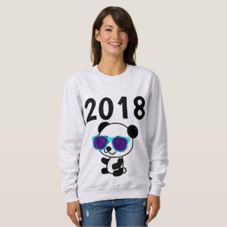 2018 NEW YEARS  T-shirts, PANDA BEAR Sweatshirt